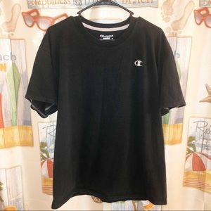 CHAMPION EMBROIDERED LOGO CLEAN ESSENTIAL TEE XL